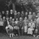 Jan Rous a první třída v roce 1924 (Bystřička)