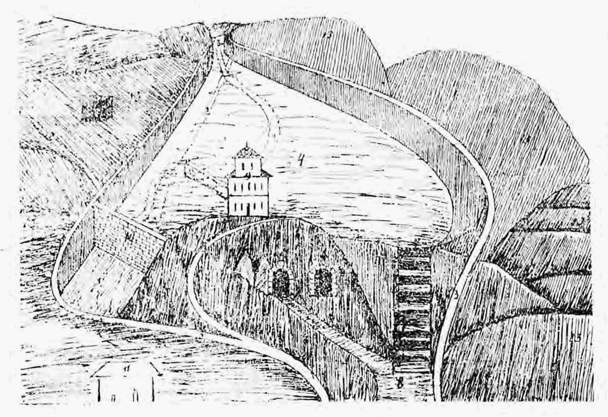 Vodní přehrada u Val. Meziříčí