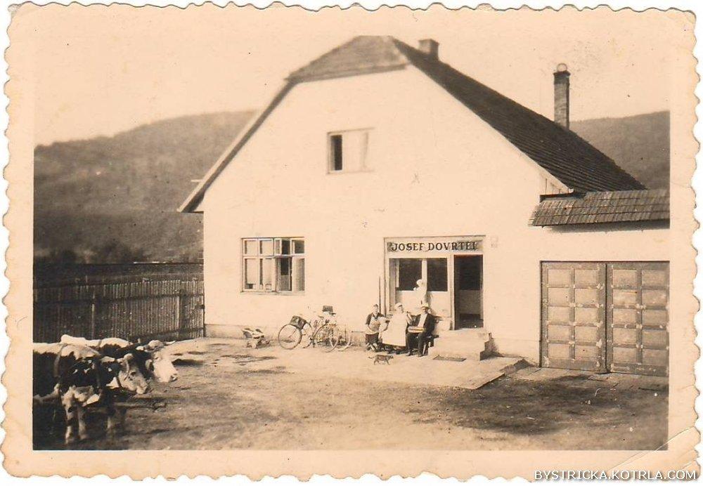 Bystřička - pekárna u Dovrtělů