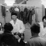 Bystřička - otevření masny 1973