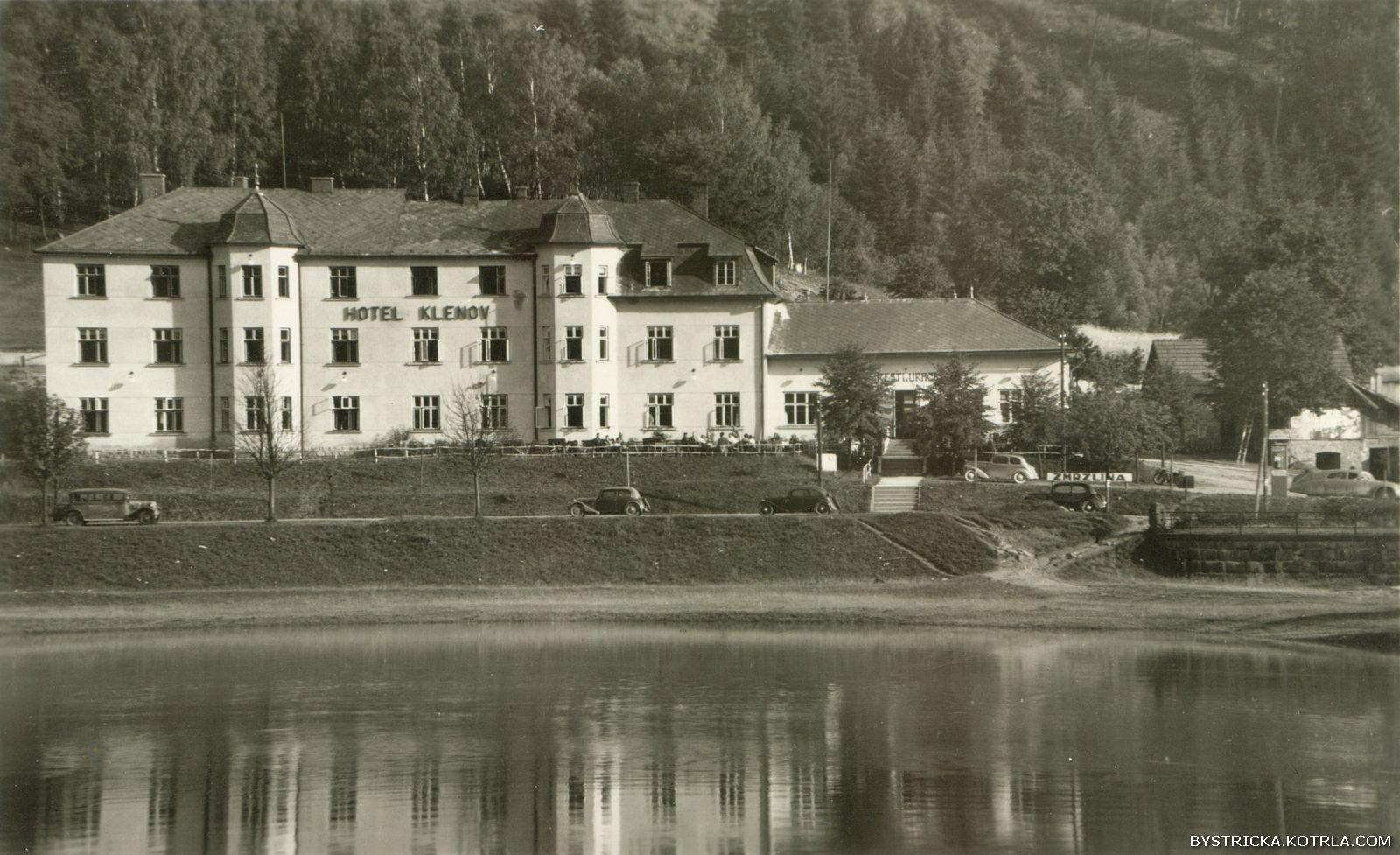 Bystřička – hotel Klenov